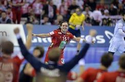 ЕВРО EHF Франция 2016 Норвегия Стоковое Изображение RF