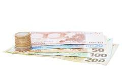евро entimes кредиток Стоковая Фотография