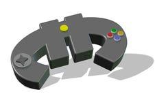 Евро Gamepad бесплатная иллюстрация