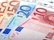 евро s Стоковое Изображение RF