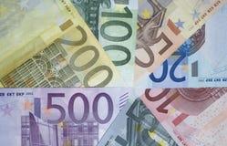 евро s Стоковые Фотографии RF