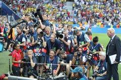 ЕВРО 2016 UEFA: Швеция v Бельгия Стоковое Изображение
