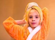 девушка ванны красивейшая Стоковое фото RF