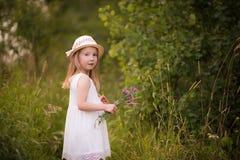 девушка 7 Весн-лета Стоковые Фотографии RF