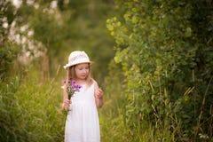 девушка 8 Весн-лета Стоковые Фотографии RF
