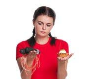 девушка голодная Стоковое фото RF