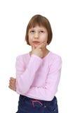 девушка заботливая Стоковые Фото
