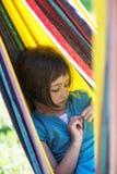 девушка заботливая Стоковое фото RF