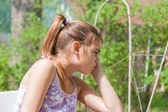 девушка заботливая Стоковая Фотография RF