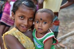 девушка Индия ребенка Стоковое Изображение RF