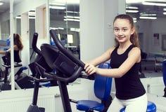 девушка идет спорты Стоковое Изображение RF