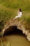 девушка каннелюры немногая Стоковое Изображение