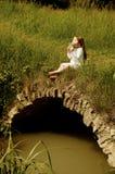 девушка каннелюры немногая Стоковые Изображения