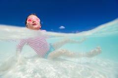 девушка меньшяя каникула Стоковая Фотография RF