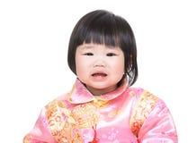 девушка младенца плача стоковые фото