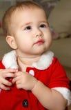 девушка младенца плача Стоковые Изображения