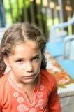 девушка немногая несчастное Стоковое Изображение RF