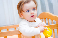 девушка немногая серьезное Стоковая Фотография RF