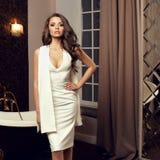 девушка платья сексуальная Стоковое Изображение RF