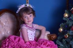 девушка платья франтовская Стоковое Изображение RF