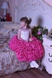 девушка платья франтовская Стоковые Фотографии RF