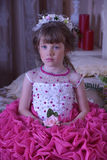 девушка платья франтовская Стоковая Фотография