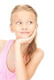 девушка симпатичная стоковое изображение
