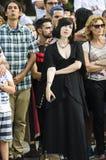 девушка средневековая Стоковая Фотография