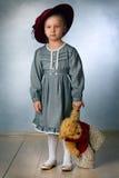девушка стильная Стоковые Фото