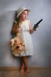 девушка стильная Стоковое Изображение