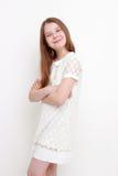 девушка счастливая немногая Стоковые Фото