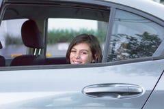 девушка счастливая немногая Стоковое Изображение