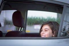 девушка счастливая немногая Стоковые Изображения