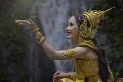 девушка тайская Стоковая Фотография