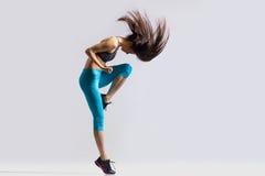 девушка танцы шикарная Стоковые Фото