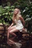 девушка тропическая Стоковое Изображение RF