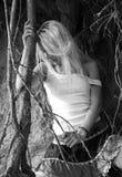девушка укореняет вал Стоковая Фотография RF