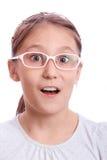 девушка удивила Стоковая Фотография RF