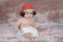 девушка newborn Стоковое фото RF
