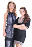 2 девушки в студии Стоковая Фотография