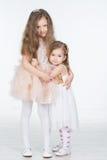 2 девушки детей Стоковые Изображения