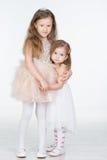 2 девушки детей Стоковые Изображения RF