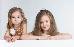 2 девушки детей Стоковые Фото