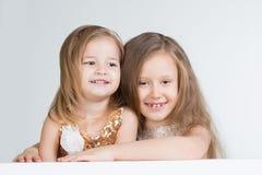 2 девушки детей Стоковое Изображение RF