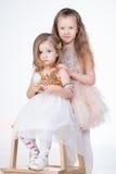 2 девушки детей Стоковые Фотографии RF