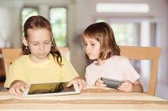 девушки играя 2 Стоковое Изображение