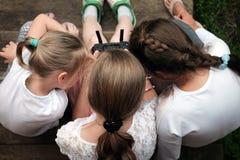 девушки играя 3 Стоковое Изображение