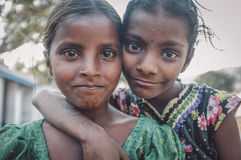 девушки индийские Стоковое фото RF