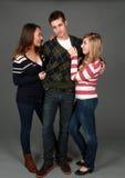 2 девушки и ванта Стоковая Фотография