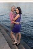 2 девушки на шагах Стоковое Изображение RF
